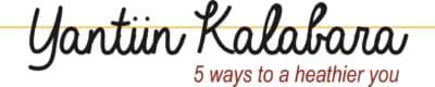 Yantiin Kalabara 5 ways to a healthier you logo